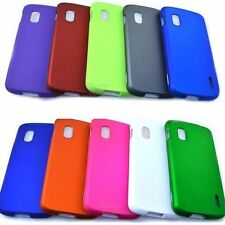 For LG E960 Google Nexus 4 Cover Solid Hard Snap On Cell Phone Case