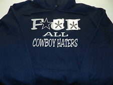 The Ultimate Dallas Cowboys Hoodie Hooded Sweatshirt Cowboy Navy Silver Pouch