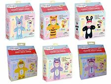 University Games My Studio Girl Sew-Your-Own Onesies, 6 Assorted