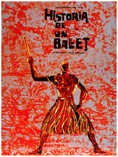 7751.Historia de un ballet.documentary.warrior on fire.POSTER.art wall decor