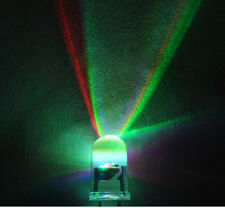 3mm 5mm RGB fast/slow change flash Rainbow water clear Red Blue Green led light