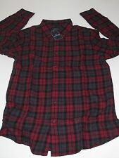 St. Johns Bay Button-Up-Front Flannel Shirt (CHOOSE sz) Mens Plaid (#15) NEW NWT
