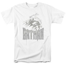 Batman Dark Knight Sketch DC Comics Licensed Adult T Shirt