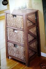 SONOMA life + style 3-Drawer Cameron Storage Tower in Antique White or Mocha