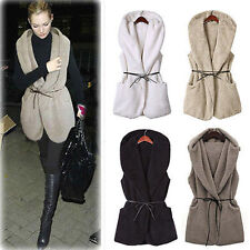 Faux Fur Gilet Vest Waistcoat Jacket Coat New Women Ladies Outwear Vintage Body