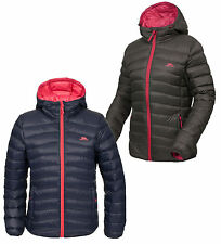 RRP £149.99 TRESPASS LADIES 80% DOWN 20% FEATHER INSULATED L.WEIGHT JACKET Tadrd