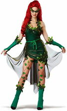 Kiss Of Death Lethally Beautiful Poison Ivy Batman & Robin Costume Adult Womens