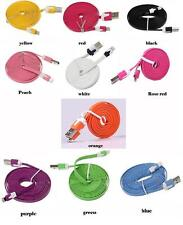 1 Meter Flat USB Data Charge Charger Cable Lead For iPhone 5/S/C iPad Mini iPod