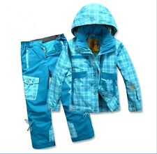 Children Waterproof Warm Windproof Ultralight Uvioresistant Sportswear Ski Suit