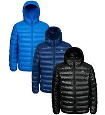 RRP £99.99 TRESPASS MENS 80% DOWN 20% FEATHER INSULATED HOODED JACKET Trmrz
