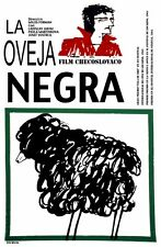 8683.La oveja negra.czech film.black sheep.POSTER.movie decor graphic art