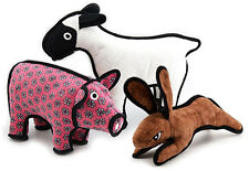 Tuffy Dog Toy Barnyard Animals Choice Of Super Tough Farm Friends Dog Toys