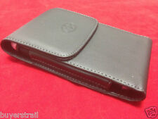 VERTICAL LEATHER CASE Fits  EXTENDED BATTERY fr Samsung Cell Phones New
