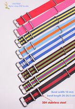18MM Nylon Watch band watch strap colorful fashion watch band 32color available