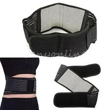 Infrared Magnetic Back Support Lumbar Brace Belt Double Pull Strap Lower Pain