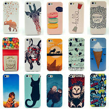 Fashion Cute Design Pattern Hard Back Case Cover Skin For Apple iPhone 5 5S 4 4S
