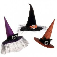 "RAZ LARGE 20.5"" WITCH HAT TABLE CENTERPIECE Halloween Decoration~Limited Qty"