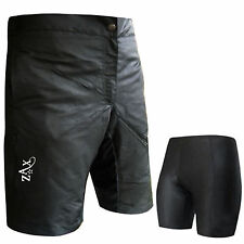 MTB Shorts Cycling Downhill Off Road Shorts + Inner Shorts Padded Boys / Youth