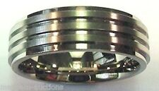 Titanium Wedding Band Comfort Fit Made in the USA