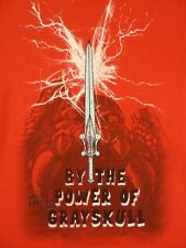 He-Man Masters Of The Universe The Sword Licensed Adult Shirt S-XXL