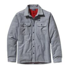 Patagonia Mens' Insulated Fjord Flannel Jacket
