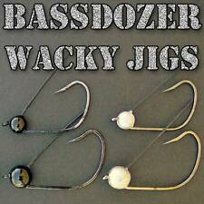 Bassdozer Wacky Jig Head with Weedguard ~ 5 per Pack