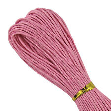 WAXED COTTON CORD - 10 to 30 Metres - 1mm, 1.5mm, 2mm - Jewellery Making Thread