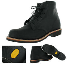 """Chippewa 6"""" Odessa Men's Leather Work Vibram Boots Made In USA 2E Wide"""