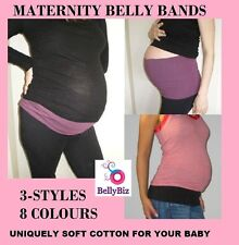 MATERNITY Belly Bands - 3 Styles Lots of colours.. Create Your Pack.. From $6.50