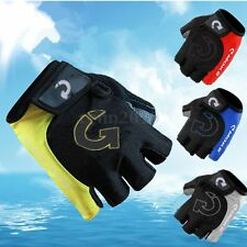 Weight Lifting Fitness Workout Body Building Training Gym Half Finger Glove M-XL