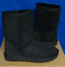 UGG Australia Women's Classic Short Boots BLACK Size US 7,8 or 9 New In Box 5825