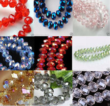 New Multicolor Swarovski Crystal Loose Beads 6x8mm / 4x6mm