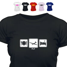 Glider Pilot Gift T Shirt Fly Daily Cycle