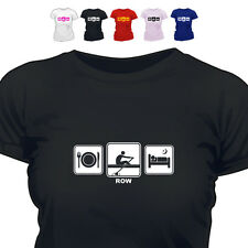 Rower Gift T Shirt Row Daily Cycle