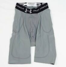 Under Armour Moisture Wicking Gray 6 Pocket Compression Girdle Mens NWT