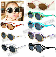 New Steampunk Oversized Round Vintage Designer Style Retro Glasses Sunglasses UK
