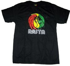 MISTER BANG T-Shirt Rasta - Pumpkin / Regular Fit / Black / New