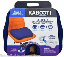 New Contour Kabooti 3 in 1 Coccyx Cushion Seating Wedge Donut Ring