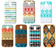 Aztec Tribal Design Print Case for Samsung Galaxy S4 5 Phone Cover Color Choice