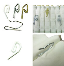 Curtain hooks for pleating tape and pinch French pleat STRONG sewing sew fabric
