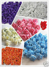 "Wholesale romantic fabric Rose Flowers Wedding Birthday Party Decorations 2.1"" A"