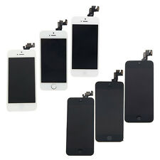 Complete BLACK/White LCD Screen Digitizer Assembly w/Button for iPhone 5/5S/5C