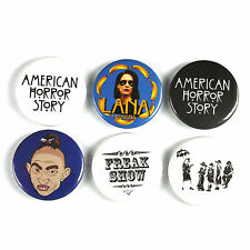 American Horror Story - Button Badge - 25mm 1 inch -  Humour / Parody Style