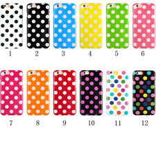 Polka Dot Pattern TPU Rubber Soft Case Cover Skin For iPhone 6G 4.7 inch