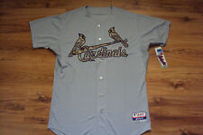 ST. LOUIS CARDINALS MAJESTIC U.S.M.C. MILITARY AUTHENTIC COOL BASE GAME JERSEY