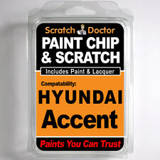 HYUNDAI ACCENT TOUCH UP PAINT Stone Chip Scratch Repair Kit 2000-2005