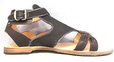 Womens Leather Canvas TIMBERLAND GLADIATOR GAVIE FLAT Ankle Strap Shoes Sandals