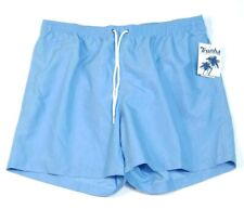 Trunks Surf & Swim Co. Blue Brief Lined Swim Trunks Water Shorts Mens NWT