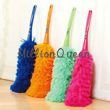 Soft Microfiber Cleaning Duster Feather Dusting Anti Magic Handle Clean