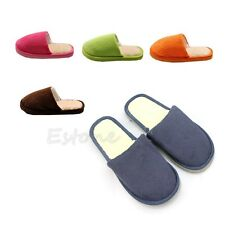 Women Men Home Anti-slip Shoes Soft Warm Cotton Sandal House Indoor Slippers